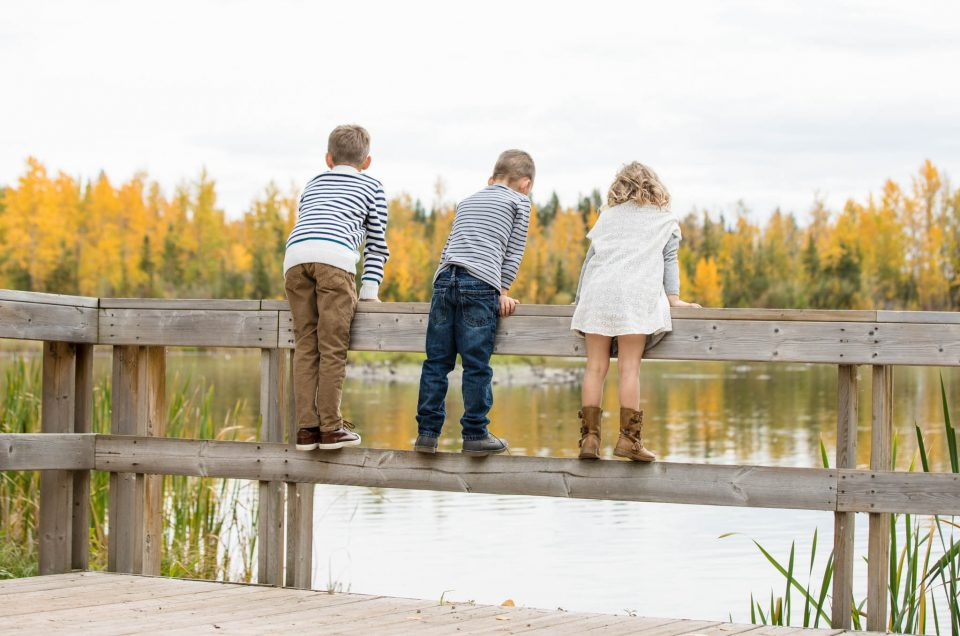 Justin, Chauntille, & Family | Red Deer Family Photographer | Mackenzie Trails Park